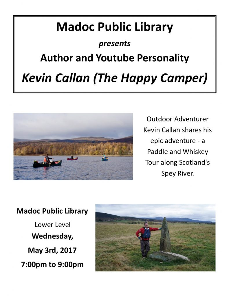 Author Visit - Kevin Callan - May 3rd, 2017