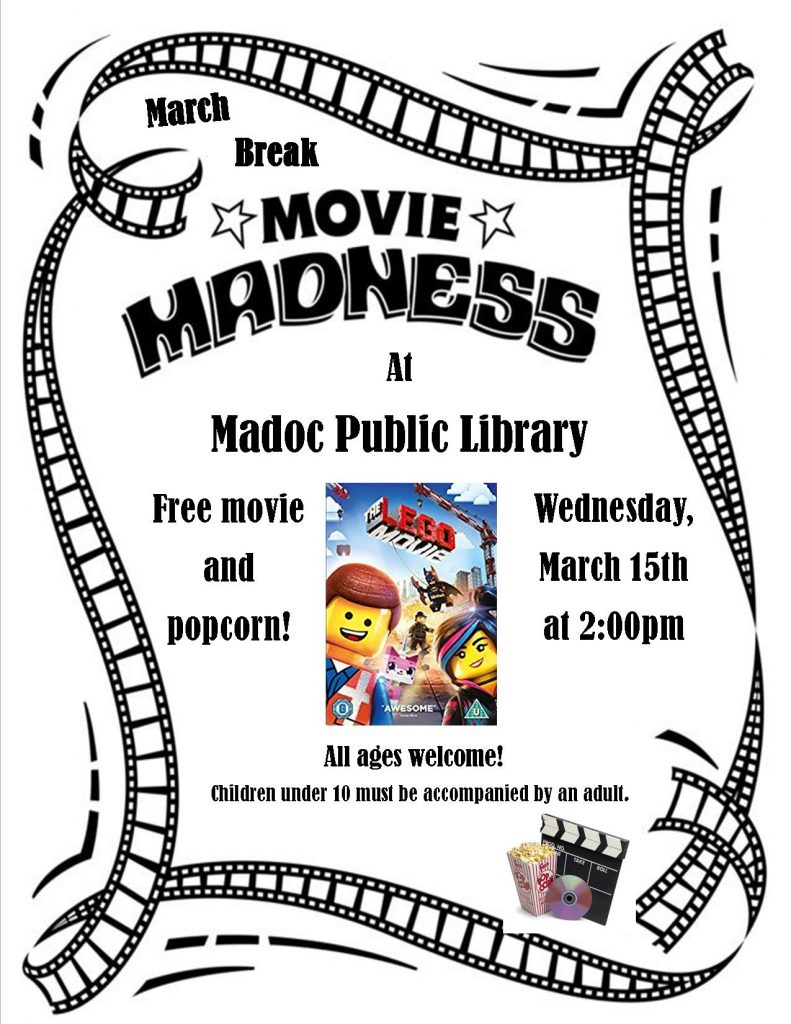 Movie Madness - March 15th program