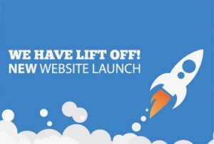 New Website Launch - rocket image