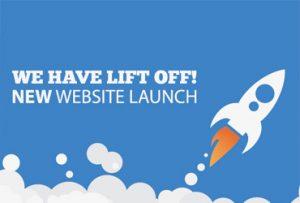 New Website Launch - rocket image