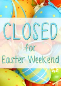 Library Closed for Easter Weekend
