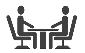 Meeting - Two People - Table