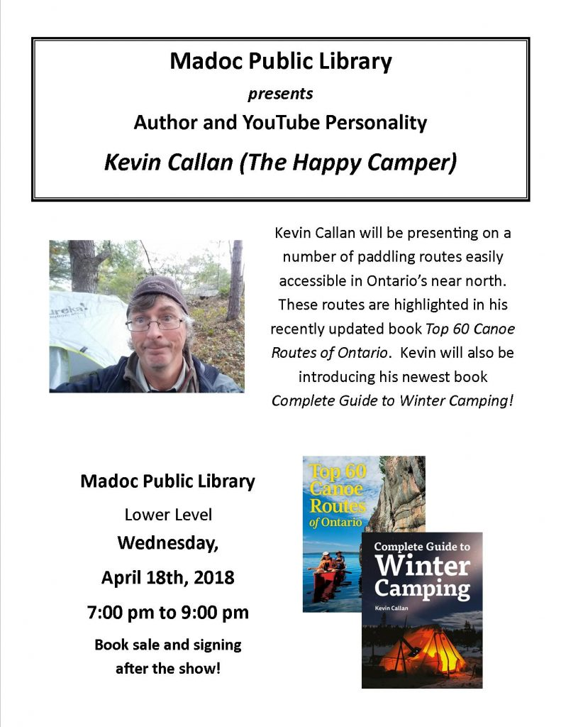 Kevin Callan presentation - April 18th, 2018